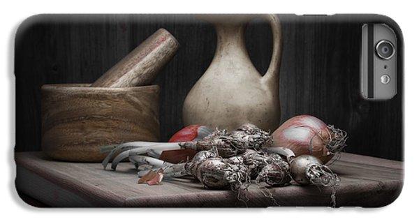 Fresh Onions With Pitcher IPhone 6 Plus Case by Tom Mc Nemar
