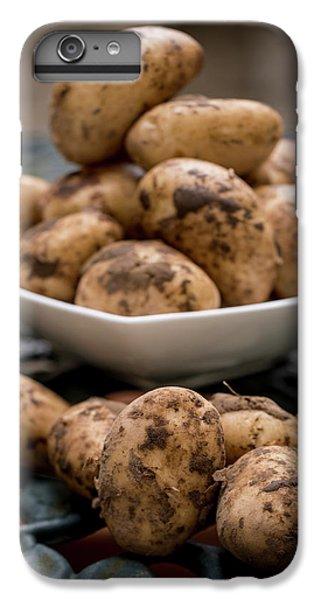 Fresh Potatoes IPhone 6 Plus Case by Aberration Films Ltd
