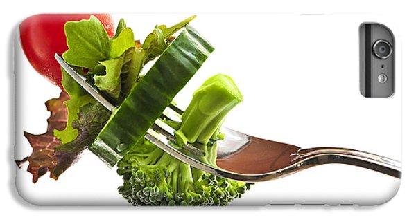 Fresh Vegetables On A Fork IPhone 6 Plus Case by Elena Elisseeva
