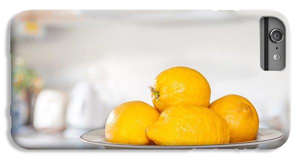 Freshly Picked Lemons IPhone 6 Plus Case by Amanda Elwell