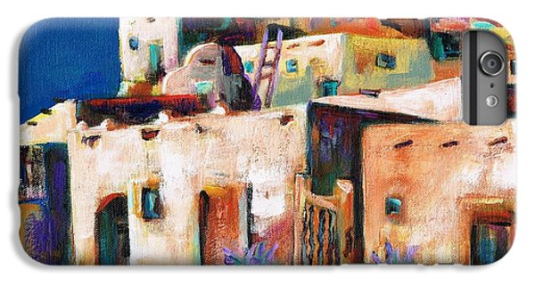 Gateway Into  The  Pueblo IPhone 6 Plus Case by Frances Marino