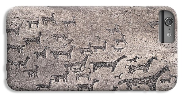 Geoglyphs At Tiliviche Chile IPhone 6 Plus Case by James Brunker