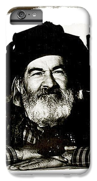 George Hayes Portrait #1 Card IPhone 6 Plus Case by David Lee Guss