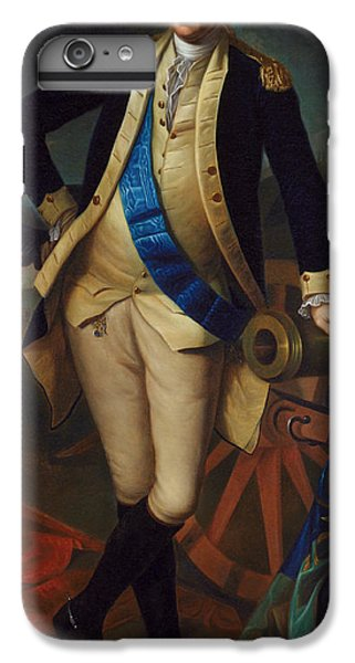 George Washington IPhone 6 Plus Case by Charles Wilson Peale