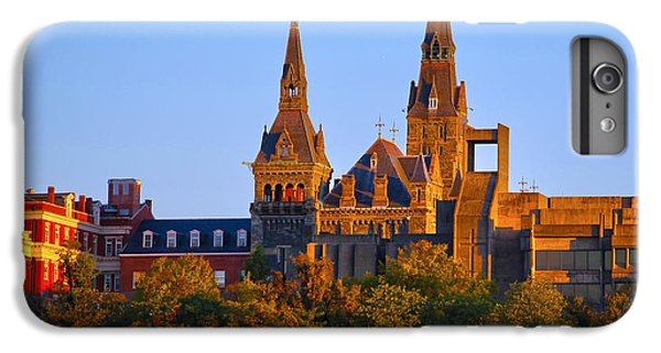 Georgetown University IPhone 6 Plus Case by Mitch Cat
