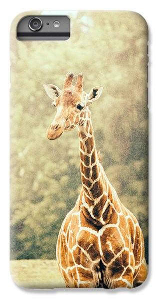 Giraffe In The Rain IPhone 6 Plus Case by Pati Photography