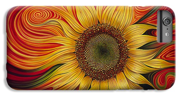 Girasol Dinamico IPhone 6 Plus Case by Ricardo Chavez-Mendez