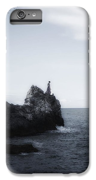 Girl On Cliffs IPhone 6 Plus Case by Joana Kruse
