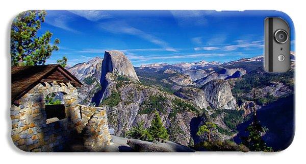 Glacier Point Yosemite National Park IPhone 6 Plus Case by Scott McGuire