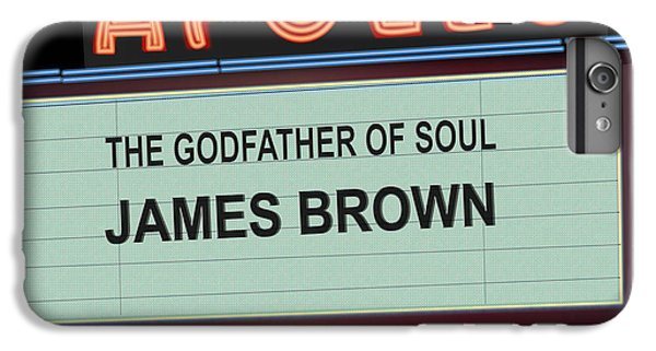 Godfather Of Soul IPhone 6 Plus Case by Michael Lovell