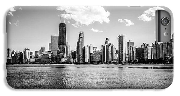Gold Coast Skyline In Chicago Black And White Picture IPhone 6 Plus Case by Paul Velgos