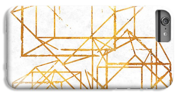 Gold Cubed I IPhone 6 Plus Case by South Social Studio