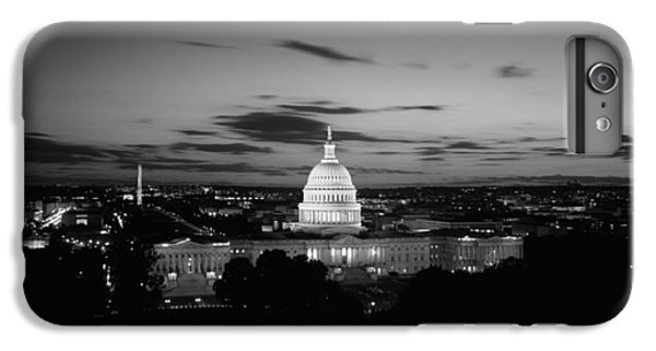 Government Building Lit Up At Night, Us IPhone 6 Plus Case by Panoramic Images
