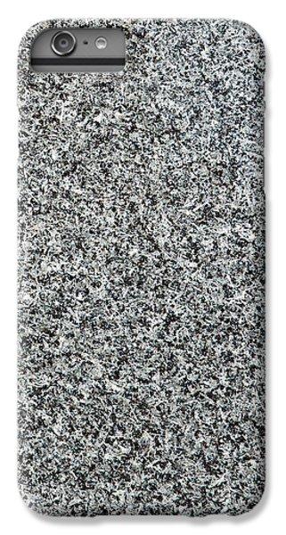 Gray Granite IPhone 6 Plus Case by Alexander Senin