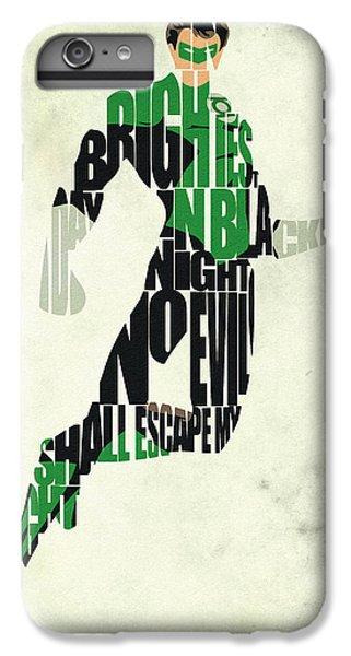 Green Lantern IPhone 6 Plus Case by Ayse Deniz