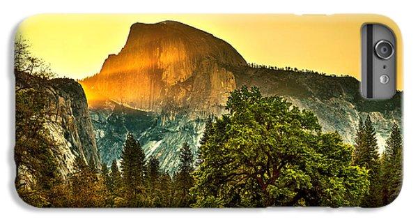 Half Dome Sunrise IPhone 6 Plus Case by Az Jackson
