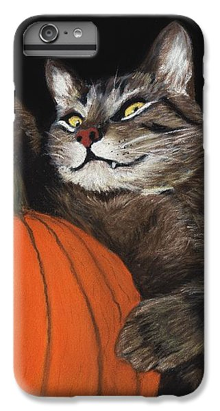 Halloween Cat IPhone 6 Plus Case by Anastasiya Malakhova