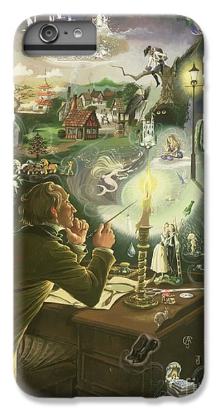 Hans Christian Andersen IPhone 6 Plus Case by Anne Grahame Johnstone