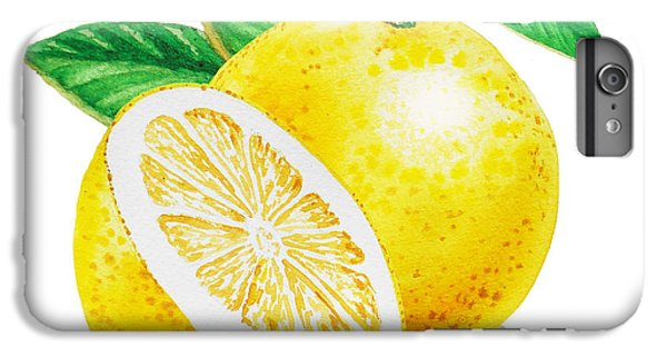 Happy Grapefruit- Irina Sztukowski IPhone 6 Plus Case by Irina Sztukowski
