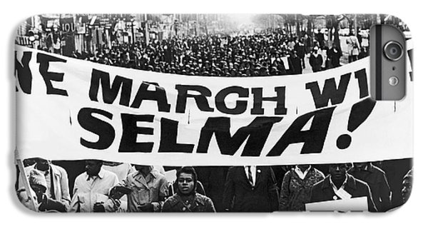 Harlem Supports Selma IPhone 6 Plus Case by Stanley Wolfson