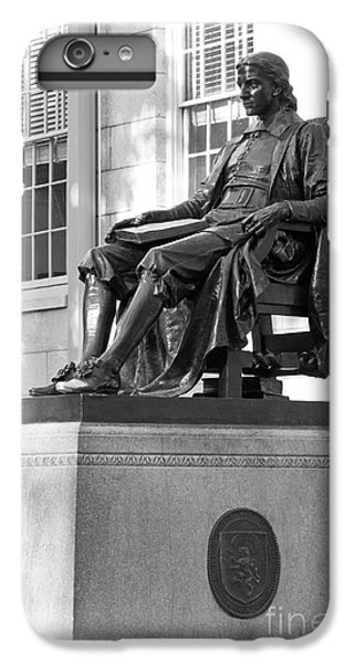 John Harvard Statue At Harvard University IPhone 6 Plus Case by University Icons