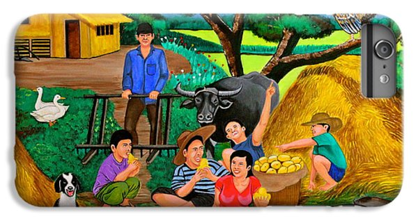 Harvest Time IPhone 6 Plus Case by Cyril Maza