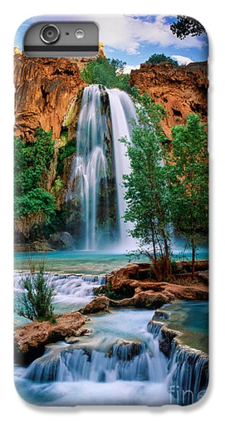 Havasu Cascades IPhone 6 Plus Case by Inge Johnsson