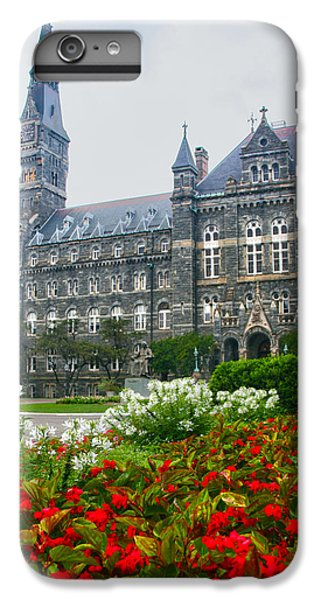 Healy Hall IPhone 6 Plus Case by Mitch Cat