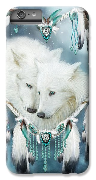 Heart Of A Wolf IPhone 6 Plus Case by Carol Cavalaris