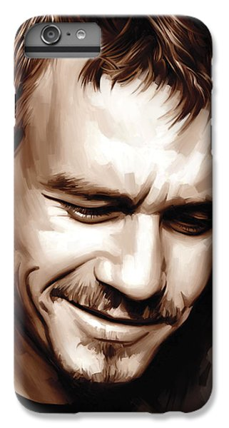 Heath Ledger Artwork IPhone 6 Plus Case by Sheraz A