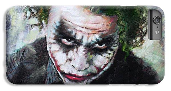 Heath Ledger The Dark Knight IPhone 6 Plus Case by Viola El