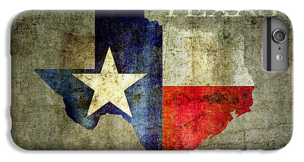 Hello Texas IPhone 6 Plus Case by Daniel Hagerman