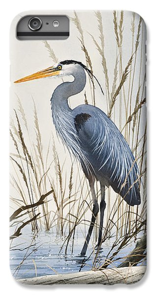 Herons Natural World IPhone 6 Plus Case by James Williamson