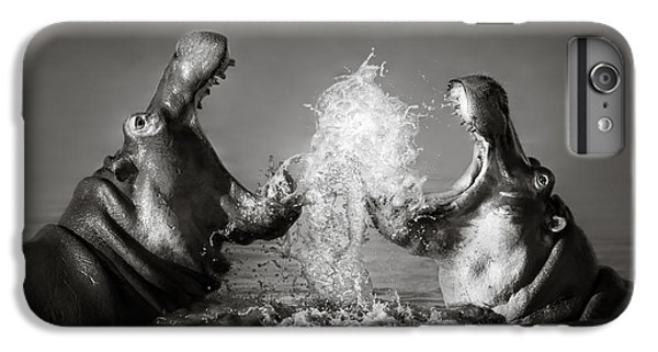 Hippo's Fighting IPhone 6 Plus Case by Johan Swanepoel