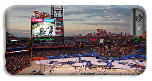 Hockey At The Ballpark IPhone 6 Plus Case by David Rucker