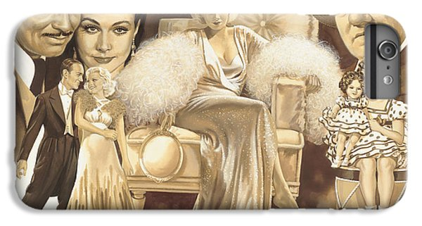 Hollywoods Golden Era IPhone 6 Plus Case by Dick Bobnick