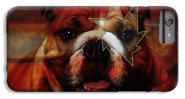 House Broken English Bulldog  IPhone 6 Plus Case by Marvin Blaine
