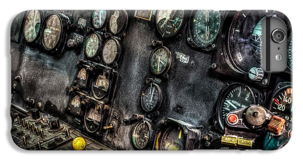 Huey Instrument Panel 2 IPhone 6 Plus Case by David Morefield