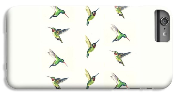 Hummingbirds Number 2 IPhone 6 Plus Case by Michael Vigliotti