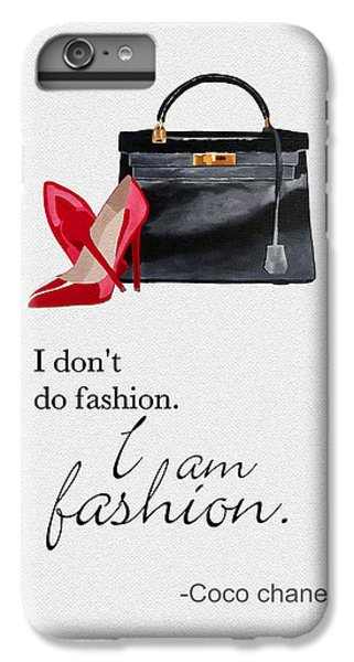 I Am Fashion IPhone 6 Plus Case by Rebecca Jenkins