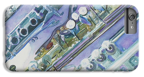 I'm Still Painting On The Keys IPhone 6 Plus Case by Jenny Armitage