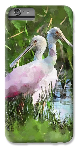 In The Bayou #2 IPhone 6 Plus Case by Betty LaRue