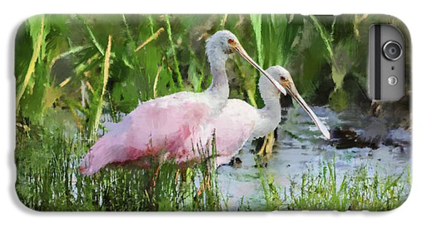 In The Bayou #3 IPhone 6 Plus Case by Betty LaRue