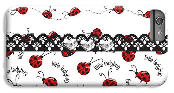 Innocent Ladybugs  IPhone 6 Plus Case by Debra  Miller