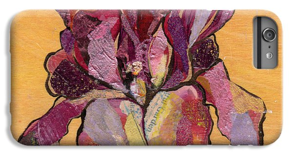 Iris V  - Series V IPhone 6 Plus Case by Shadia Derbyshire