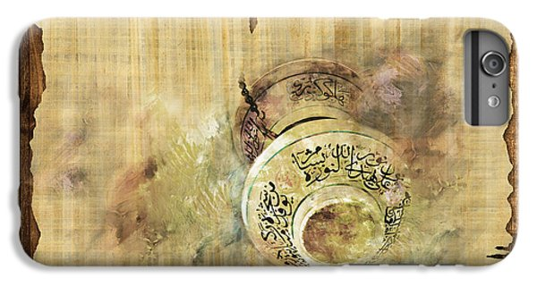 Islamic Calligraphy 037 IPhone 6 Plus Case by Catf