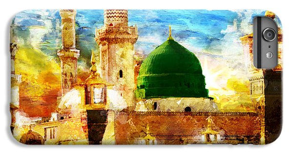 Islamic Paintings 005 IPhone 6 Plus Case by Catf