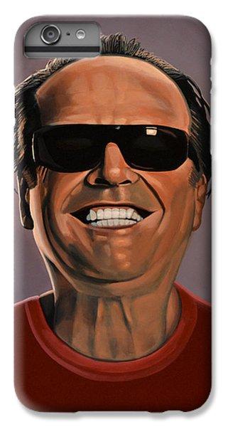 Jack Nicholson 2 IPhone 6 Plus Case by Paul Meijering
