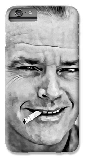 Jack Nicholson IPhone 6 Plus Case by Florian Rodarte