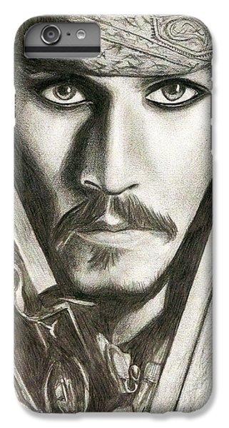 Jack Sparrow IPhone 6 Plus Case by Michael Mestas